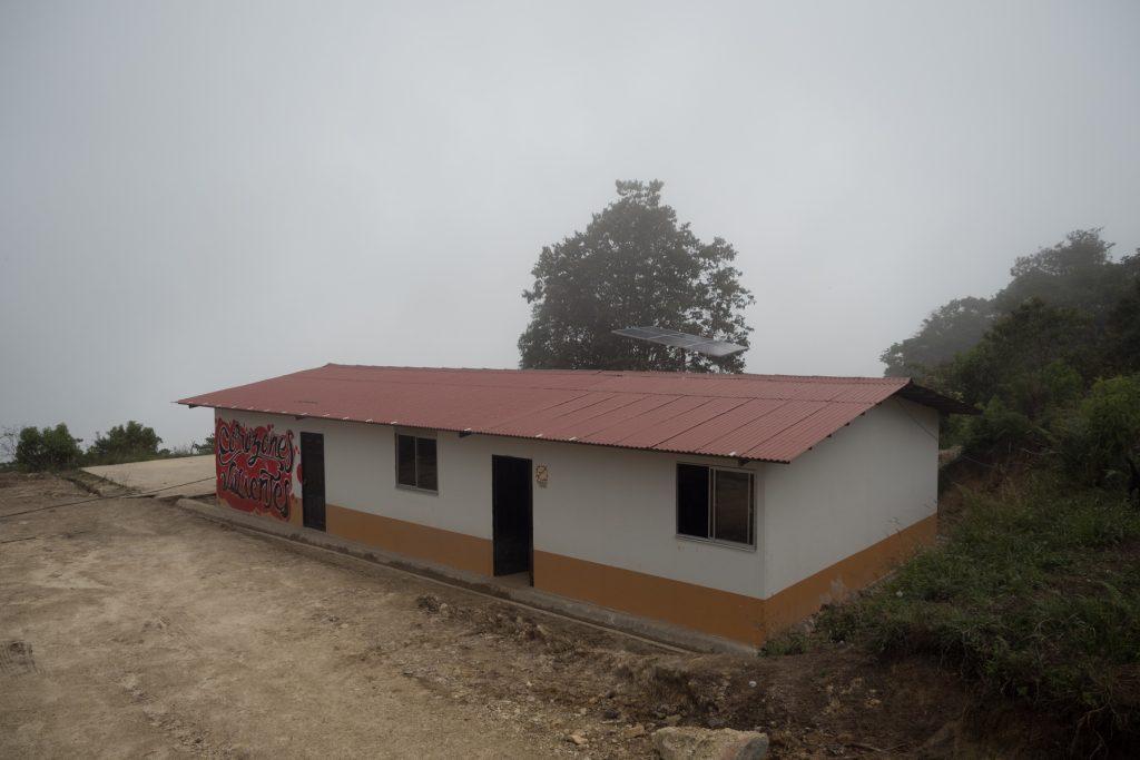 Kindergarten aus der Zone Antonio Nariño bei Icononzo