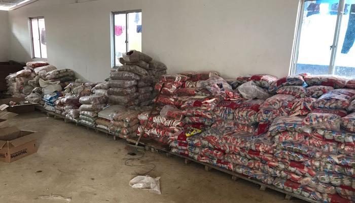 Lebensmittellager (Quelle: Hochkommissar des Friedens)