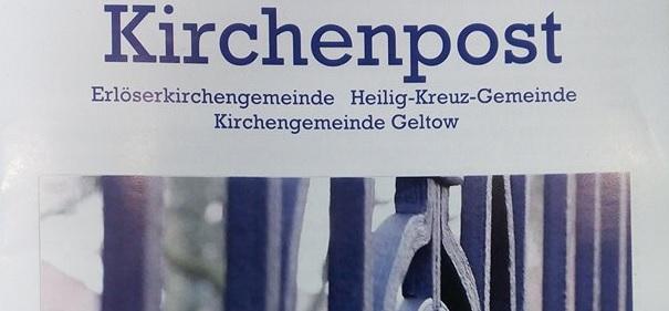 Die Kirchenpost Titelblatt