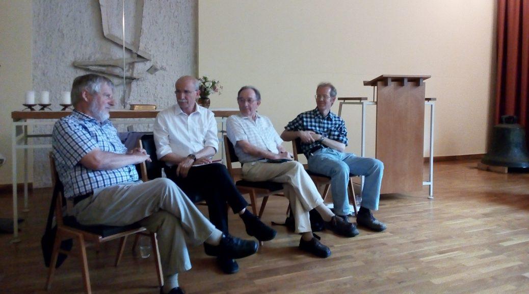 Joachim Briesemann (2. Person von rechts) bei der Veranstaltung